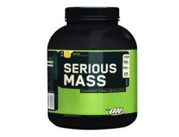 Гейнер Optimum nutrition, Serious Mass 2,72 кг (6 lb)