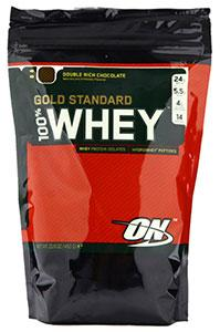 Протеин Optimum nutrition, 100% Whey protein Gold standard, 0,45 гр (1 lb)